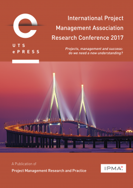 International Project Management Association Research Conference 2017