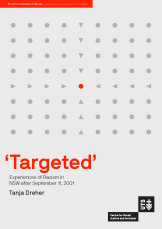 Cover- 'Targeted': Experiences of Racism in NSW after September 11, 2001