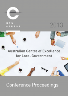 Australian Centre of Excellence for Local Government cover