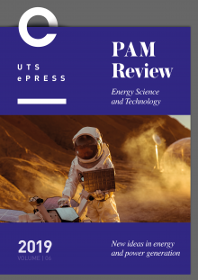 PAM Review Vol 6 (2019) cover