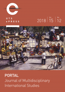 Portal Cover - Vol. 15. No. 1 and 2 (2018).